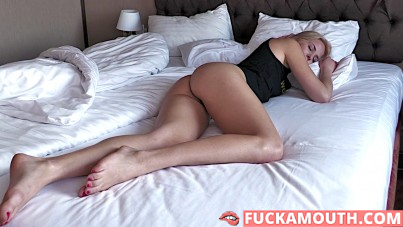 Amy Douxxx, wake up and fuck
