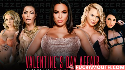 Brazzers LIVE, Valentine's Day affair