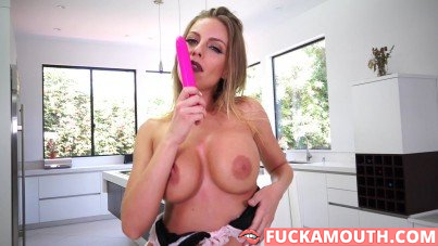 busty pornstar's solo orgasms