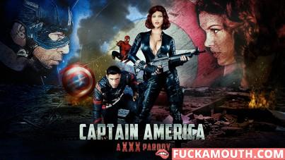 Captain America, a XXX parody