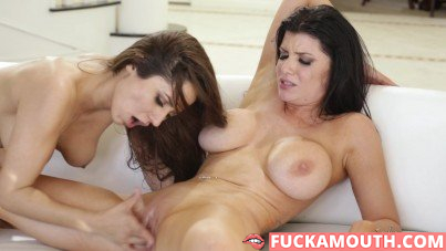 charming nanny gets fucked by a horny housewife
