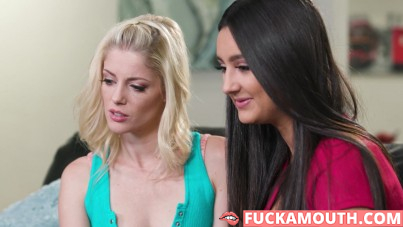 lesbian porn on her BF's computer