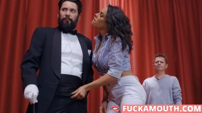 magic wife cheats on her husband