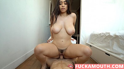 one on one creampie with Violet Myers