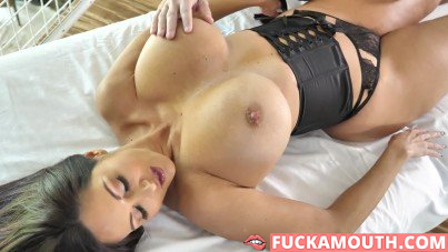 totally relaxing for Ava Addams' hot body
