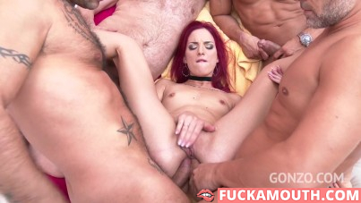 double anal penetration for a gentle Lyen Parker