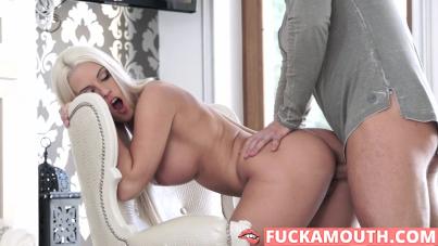 glamorous girl in sexy lingerie
