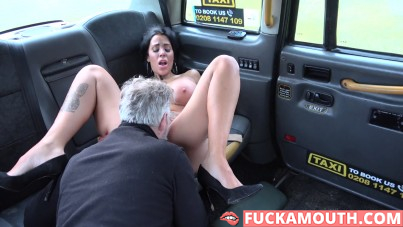 her best taxi ride ever