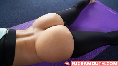 Jada's ass training