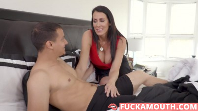 mommy doesn't care who will fuck her