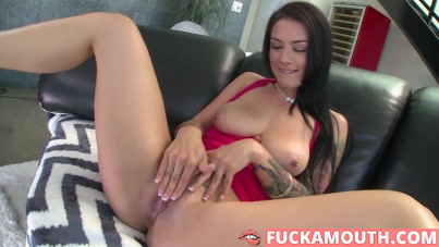 monsters of cock, Katrina Jade takes a black snake!