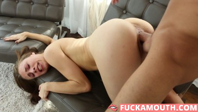 paying rent with a creampie