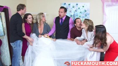 sex in wedding shop