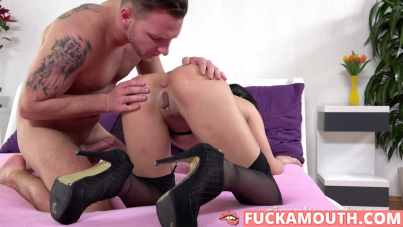 simply anal with Lady Dee