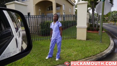 teen nurse gives qualified help