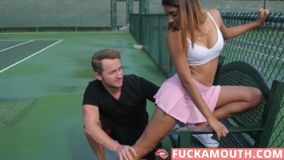 tennis tease